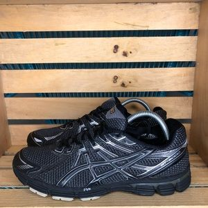ASICS GT-2000 black and gray men's 11